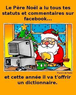 Père Noël orthographe
