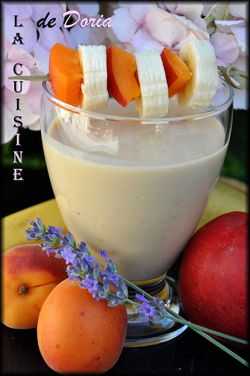 Smoothie abricots 1a