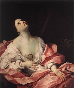 505px-Cleopatra with the Asp (1630); Reni, Guido