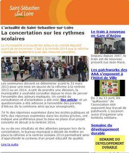 Actualité de Saint Sébastien sur Loire
