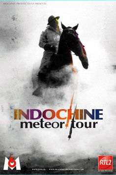 Indochine en concert : Meteor TOUR 1
