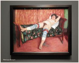 La saltimbanque au repos Charles Camoin Musee Luxembourg