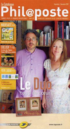 Catalogue Philaposte SepNov 2009