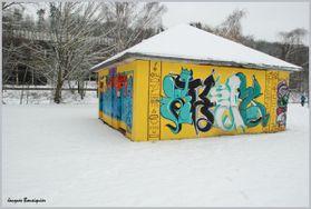 Creil neige gaffitis