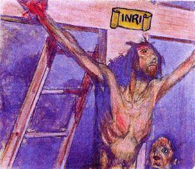 Christ Roi et le larron-1