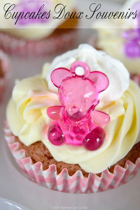 cupcakes chocolat pour baby shower (4)