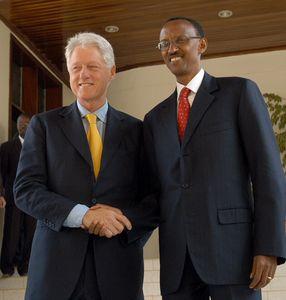Clinton and Kagame