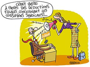 Cotisation syndicale