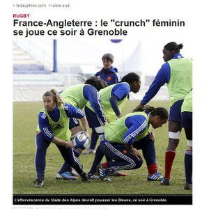 France Angleterre rugby femmes 2