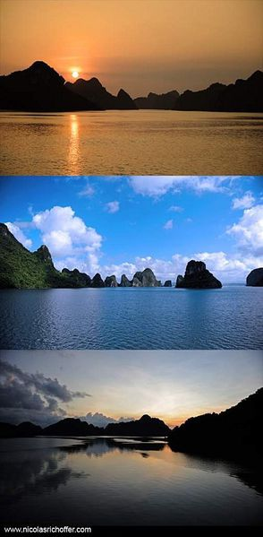 Triptyque Ha Long