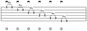 pull-off-2-guitar-tab