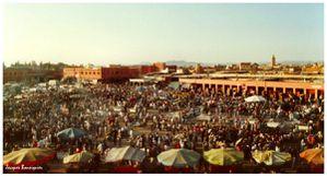 Marrakech Place Jemaa el Fna 3