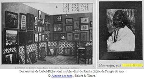 lobel-riche-exposition-casablanca-maroc-1918 legende