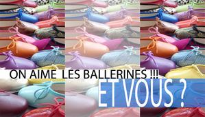 Ballerines Slider HP rentrée 2012