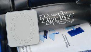 big shot poincons sizzlits