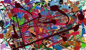 Pollock Imitation-