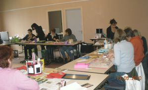 atelier stampin up a mours
