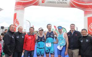 Les Vainqueurs du distances M avec Tanguy De Lamotte
