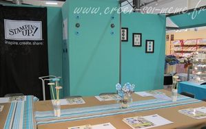 stand stampin up creativa rouen 2011
