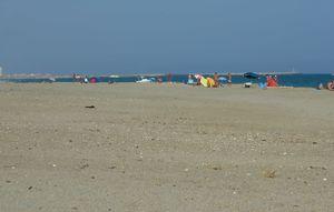 11 la plage au fond Valras plage