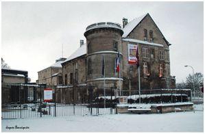 Creil Musee Gallet Juillet Jour de neige