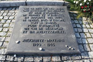 Dallecomémorative-Auschwitz