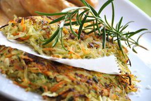 Paillasson, galette de légumes