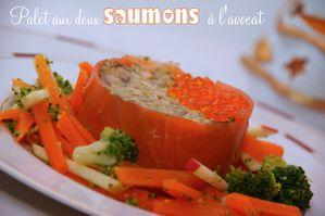 palet saumon avocat