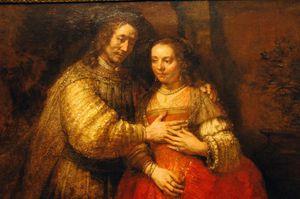 Rembrandt, La fiancée juive