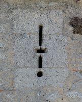 Archère cruciforme avec arquebusière