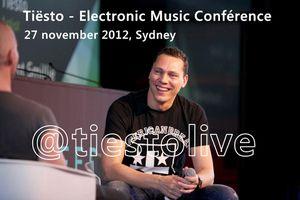 Tiësto - Electronic Music Conférence