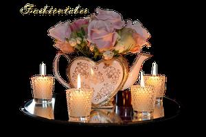 vintage-tealights-wedding-photography