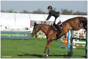 Sophie Tapie Jumping Chantilly 20 avril 2013 d
