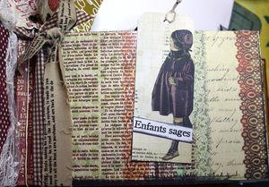 Gabistella Mini album Noel Vintagepage7 02 2010