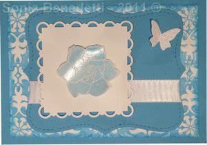 carte bleu turquoise