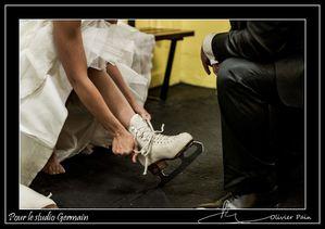 Reportage mariage par Olivier Pain reporter photographe pour le studio Germain basé sur Tours