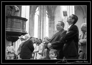 Reportage pour le diocèse de tours Olivier Pain reporter photographe basé sur Tours