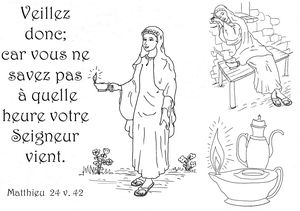 coloriage 10 vierges