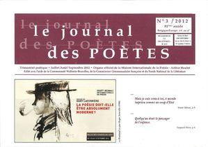 Journal des Poètes