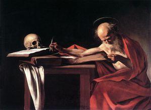 Caravaggio jerome Borghese