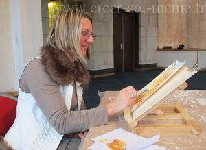 Peignez la cathedrale a la maniere de Monet laetitia