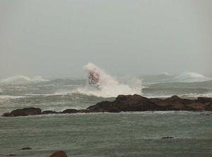 La balise sous la tempête