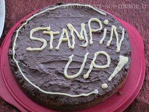 gateau stampin up
