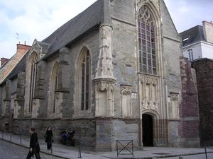 Rennes église St Yves