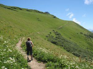 Mont Trélod (voie normale) en famille 8