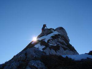 Dent d'Arclusaz (depuis le Col de l'Eperney) 13
