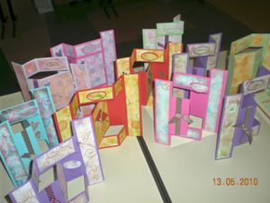 atelier stampin up 13 mai a mours
