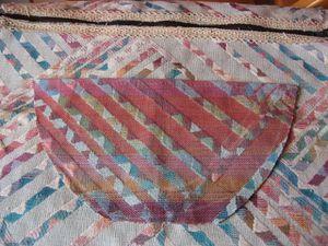 sac fourre-tout en tissu d'ameublement et dentelle 005