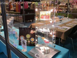 stand creativa table acceuil
