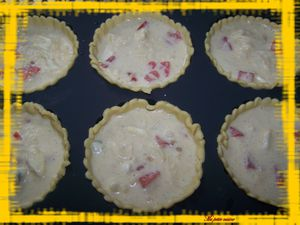 tartelettes 3 fromages -tomates 1